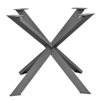 1. Vier Fuss Design Gestell aus Stahl